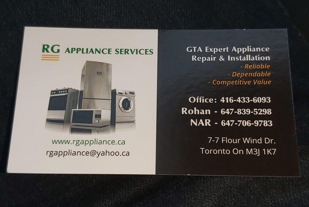 RG Appliance Service